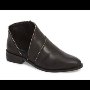Lucky Brand Prucella leather booties